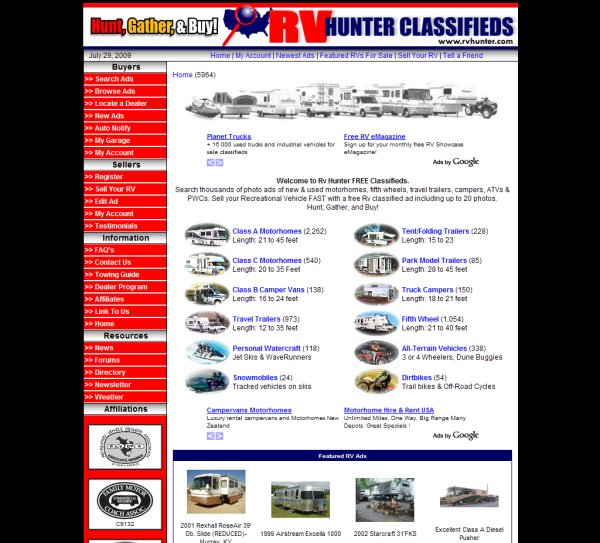Esvon Classifieds - Featured Clients - PHP Classified Ads